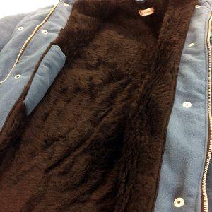 interno in pelliccia sintetica