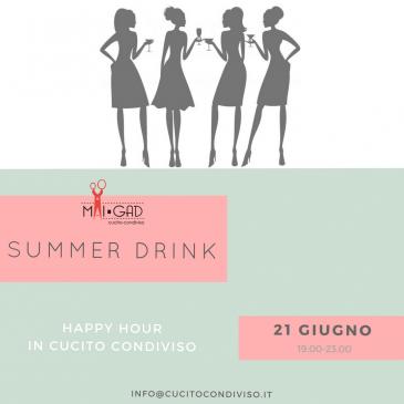 Summer Drink 2018, le novità di Cucito Condiviso